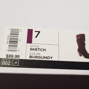 Sonoma Shoes - NWT burgundy boots
